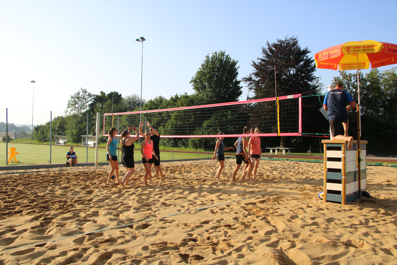 Beachvolleyball-Turnier 2021