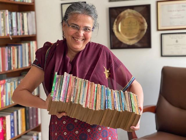 City Library - Rakhshanda Jalil's Mills & Boon Collection, Central Delhi