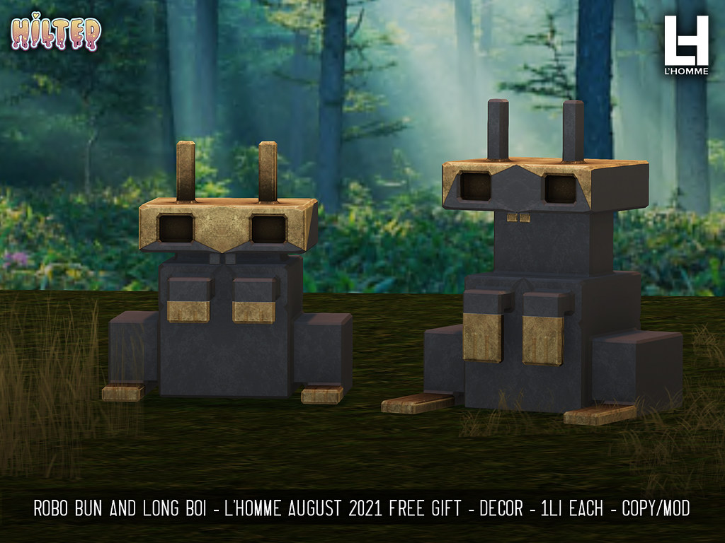 HILTED – Robo Bun and Long Boi – L'Homme Magazine Gift