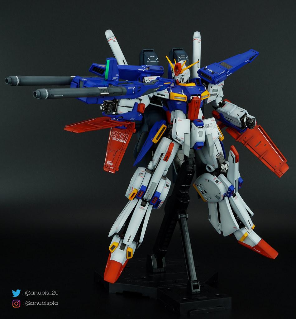 MG Enhanced ZZ Ver Ka. Painted Build
