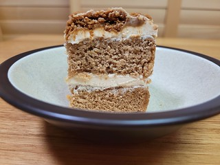 Woolworths Vegan Biscoff Cake