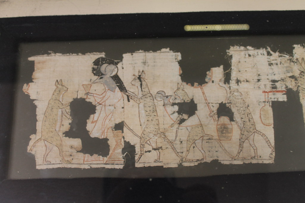 Papyrus of Cats and Mice