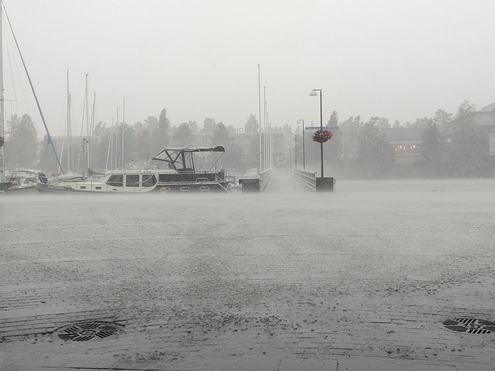 Savonlinna myrsky