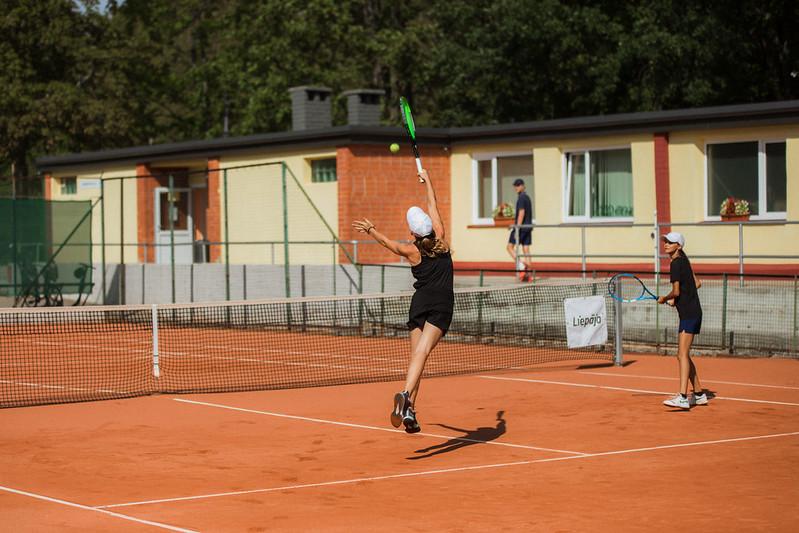 """Starptautiskās Tennis Europe sacensības """"Liepaja International Tournament"""" U14 1.diena. Foto: Mārtiņš Vējš / 1st day Tennis Europe """"Liepaja International Tournament"""" for U14 Photo: Mārtiņš Vējš"""