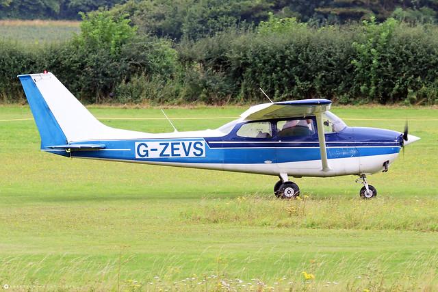 G-ZEVS  -  Reims/Cessna F172H Skyhawk c/n F172-00736  -  EGHP 14/8/21