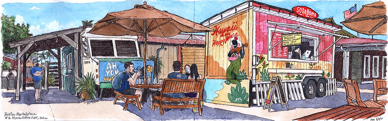 Hukilau Marketplace Oahu