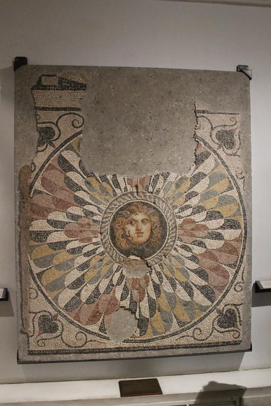 Mosaic with Gorgoneion
