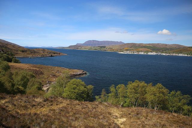 Ullapool from Altnaharrie