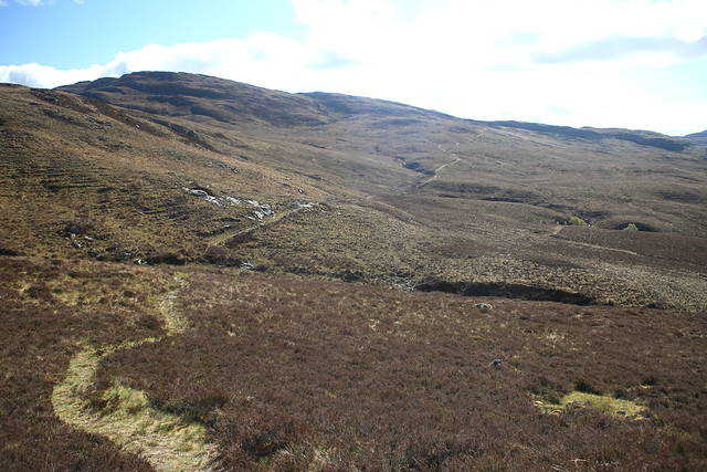 The old Coffin Road between Dundonnell and Inverbroom