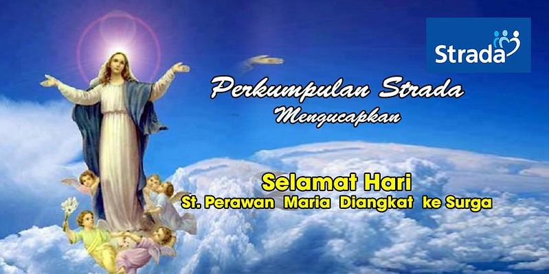 Memperingati Hari Santa Perawan Maria Di Angkat ke Surga