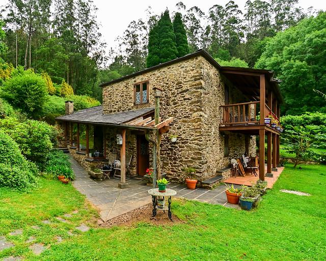 Casa Rural O Vilar en Galicia