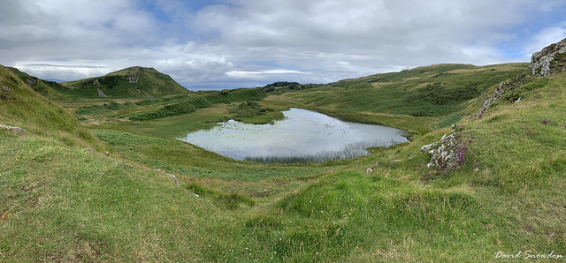 Loch na Leighe Panorama
