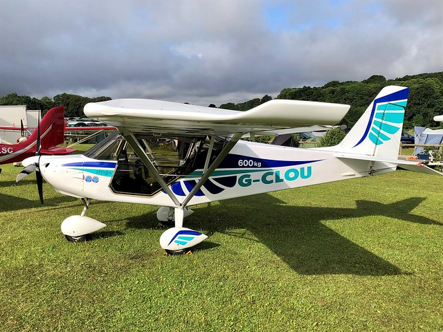 G-CLOU  -  Flylight Airsports Skyranger Nynja c/n 297-1  -  EGHP 16/8/21