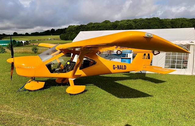 G-NALD  -  Aeroprakt A32 Vixxen c/n LAA 411-15587  -  EGHP 15/8/21