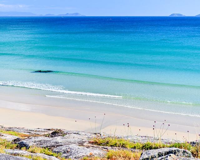 Una de las playas más largas de Galicia