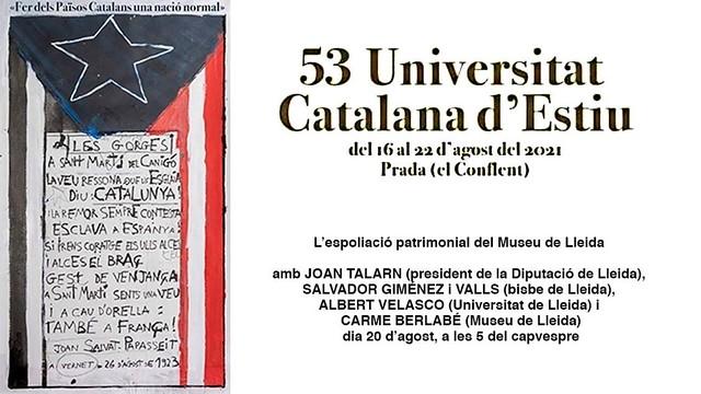 L'espoliació patrimonial del Museu de Lleida