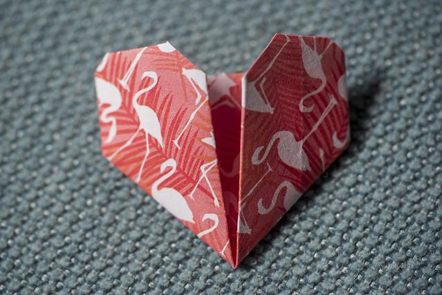 MM: paper heart