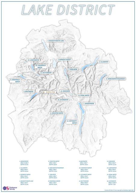 The Lake District National Park data visualisation (lakes)
