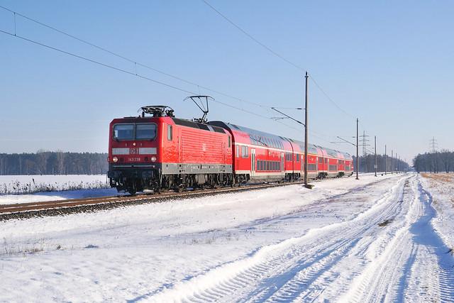 143 238 DB Regio AG | Großrössen | Februar 2021