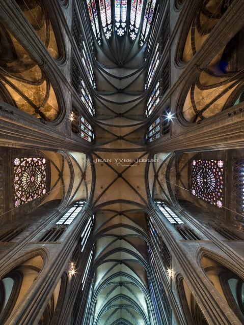 Cathédrale Notre Dame de l'Assomption à Clermont -Ferrand - France