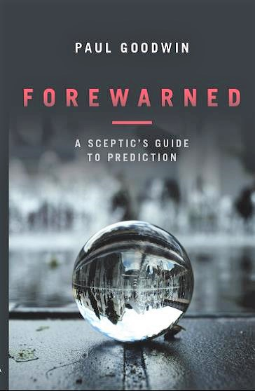 The cover of Paul's book 'Forewarned'