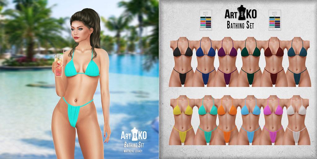 Art&Ko – Bathing Set – Tres Chic