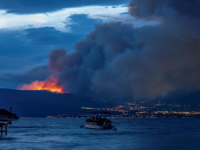 Wildfire in the Okanagan
