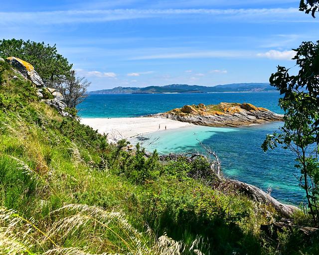 Playas de las islas Cies, una de las playas más paradisíacas de Galicia