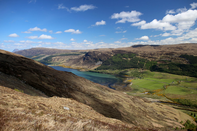 Loch Broom from the old Coffin Road
