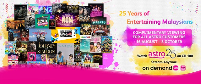 Astro 25 Channel 100_Complimentary Viewing For All Astro Customers