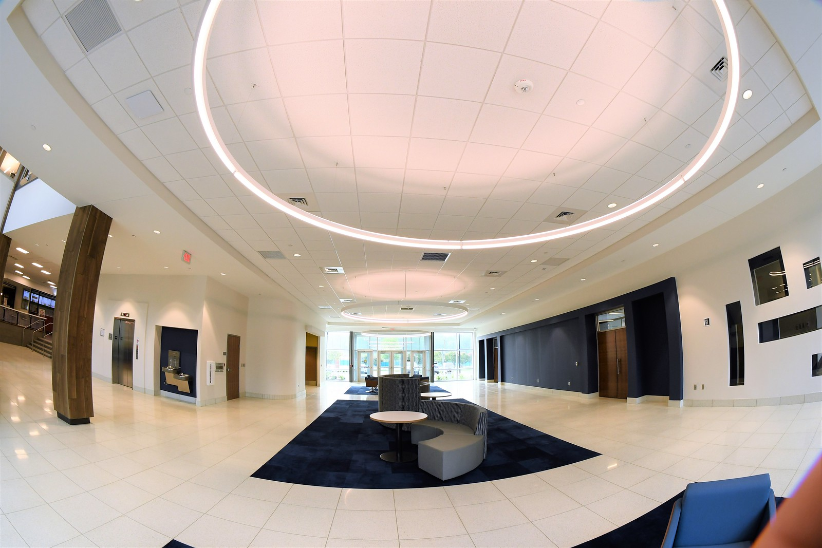 Panoramic Views From Inside The Hines & Riggins Center: Aug. 16, 2021