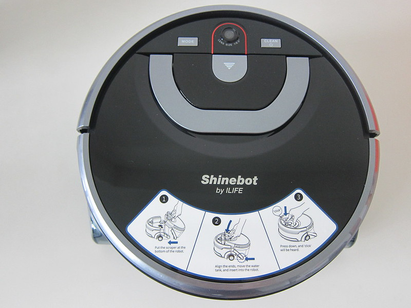 ILife Shinebot W450 - Top