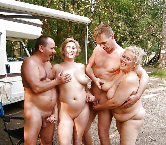 It looks like these couples are preparing for some fun!