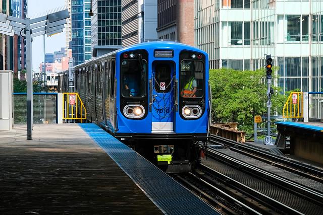 7000-Series CTA Train