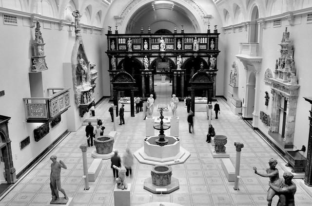V&A museum.