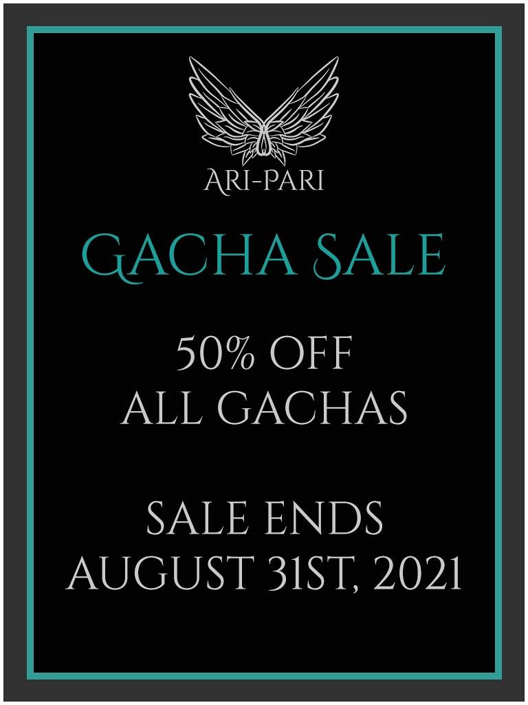 [Ari-Pari] Gacha Sale Flyer