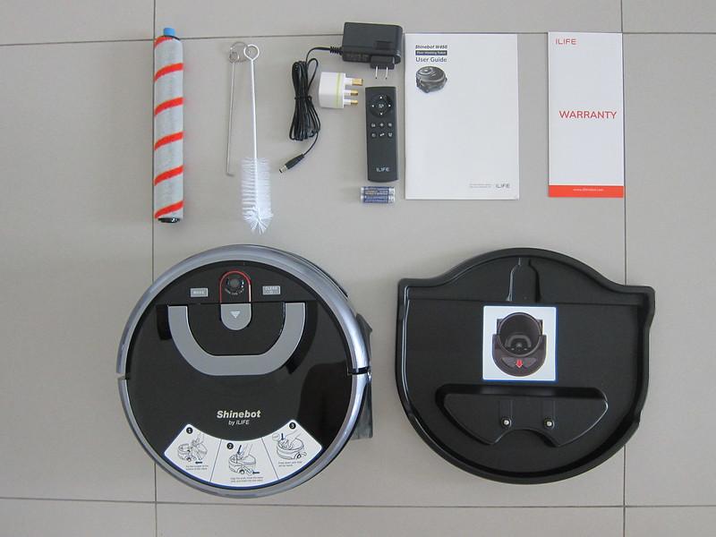 ILife Shinebot W450 - Box Contents