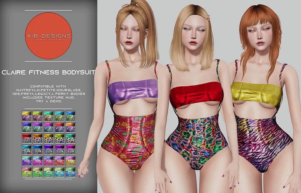 KiB Designs – Claire Fitness Bodysiut @Sense Event 18th August