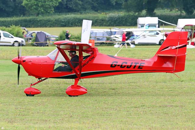 G-CJTE  -  Aeropro EuroFox 3K c/n 50917  -  EGHP 14/8/21