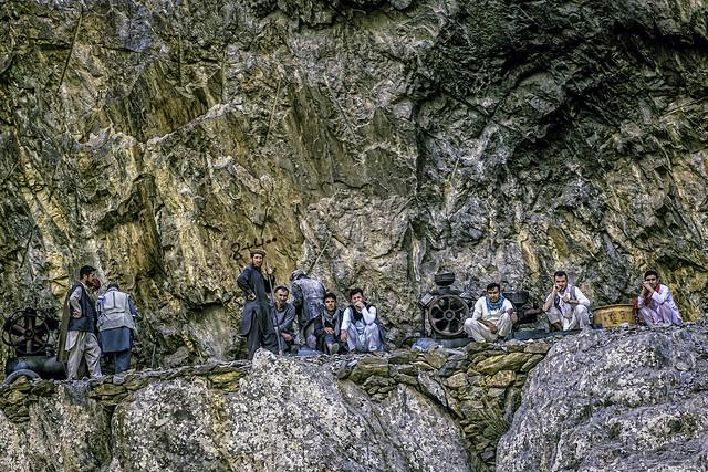 Afghanistan workmen