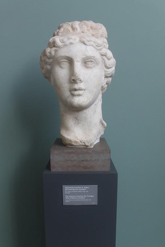 Head of Faustina Minor