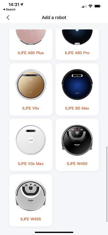 ILife iOS App - Add a Robot