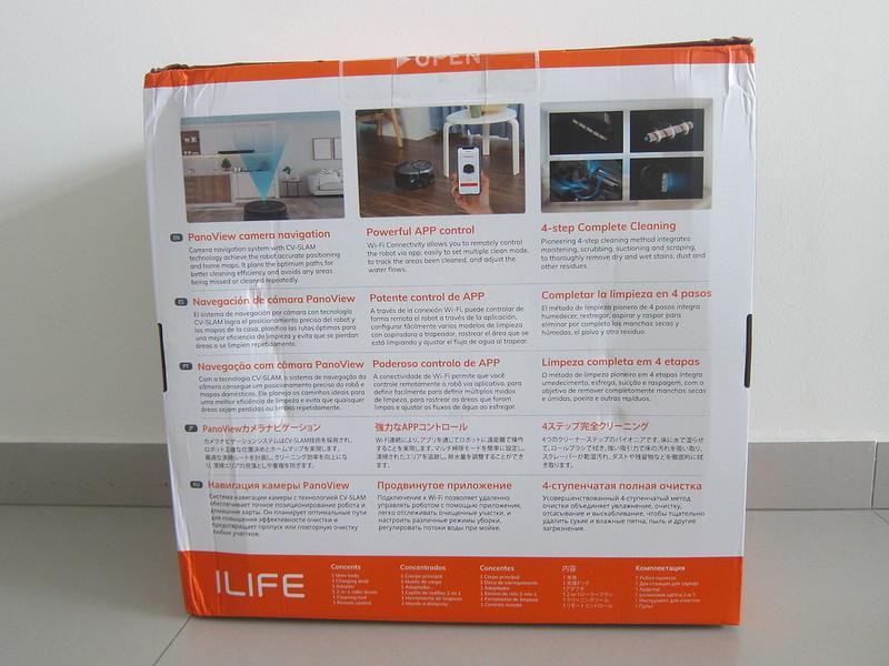 ILife Shinebot W450 - Box Back