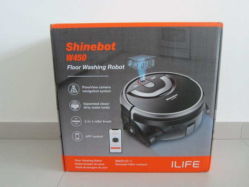 ILife Shinebot W450 - Box Front