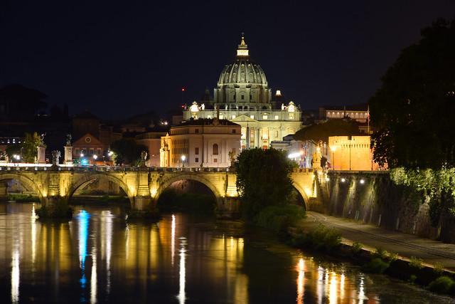 Quanto sei bella Roma quann'e' sera...