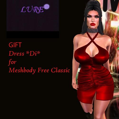 ***LURE*** Dress *Di* for Meshbody Free Classic