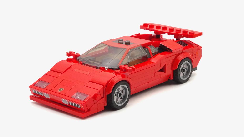 Lamborghini Countach LEGO MOC