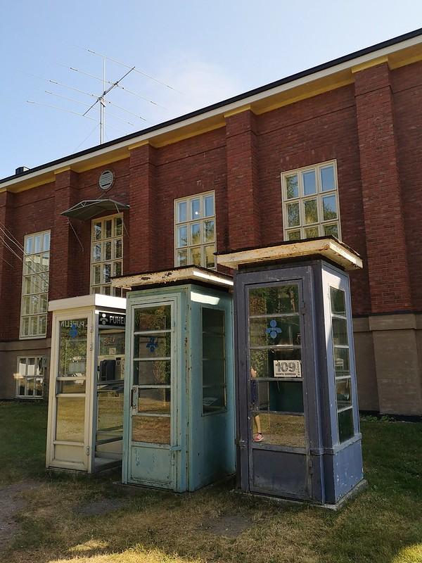Radiotvmuseo puhelinkopit
