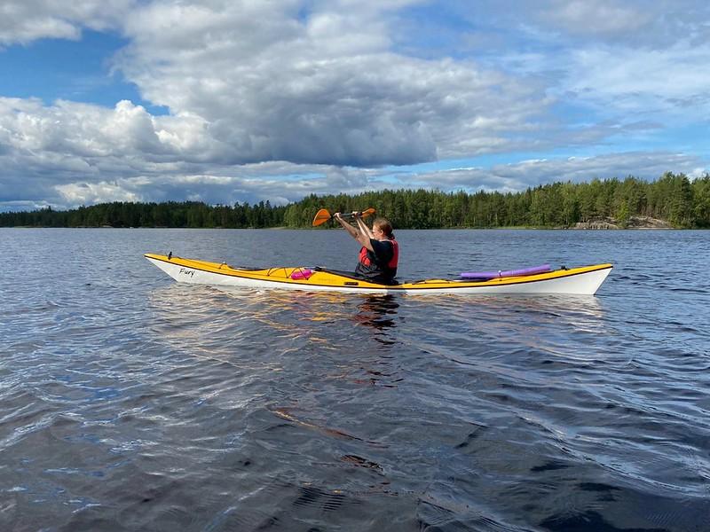 Puumala Saimaa canoeing
