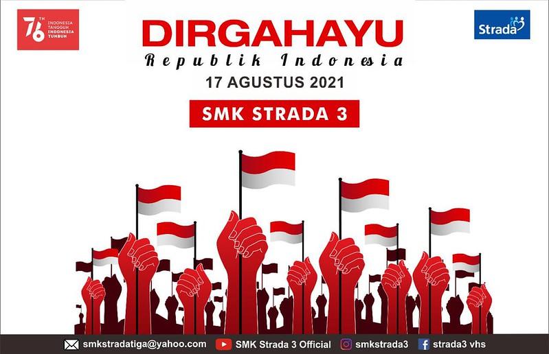 "Perayaan HUT RI ke 76 ""Indonesia Tangguh, Indonesia Tumbuh"""